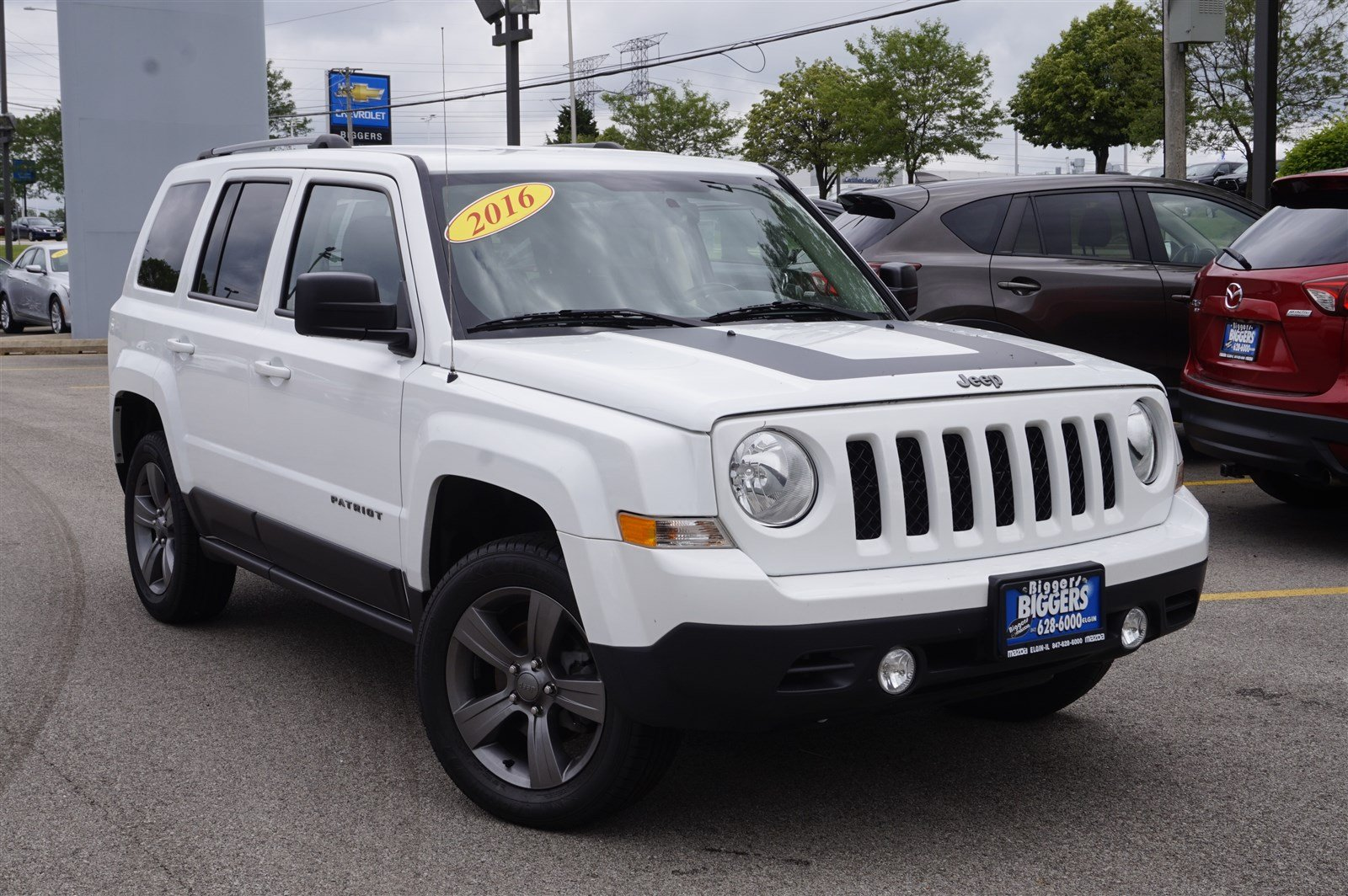 Pre-Owned 2016 Jeep Patriot Sport SE FWD Sport Utility