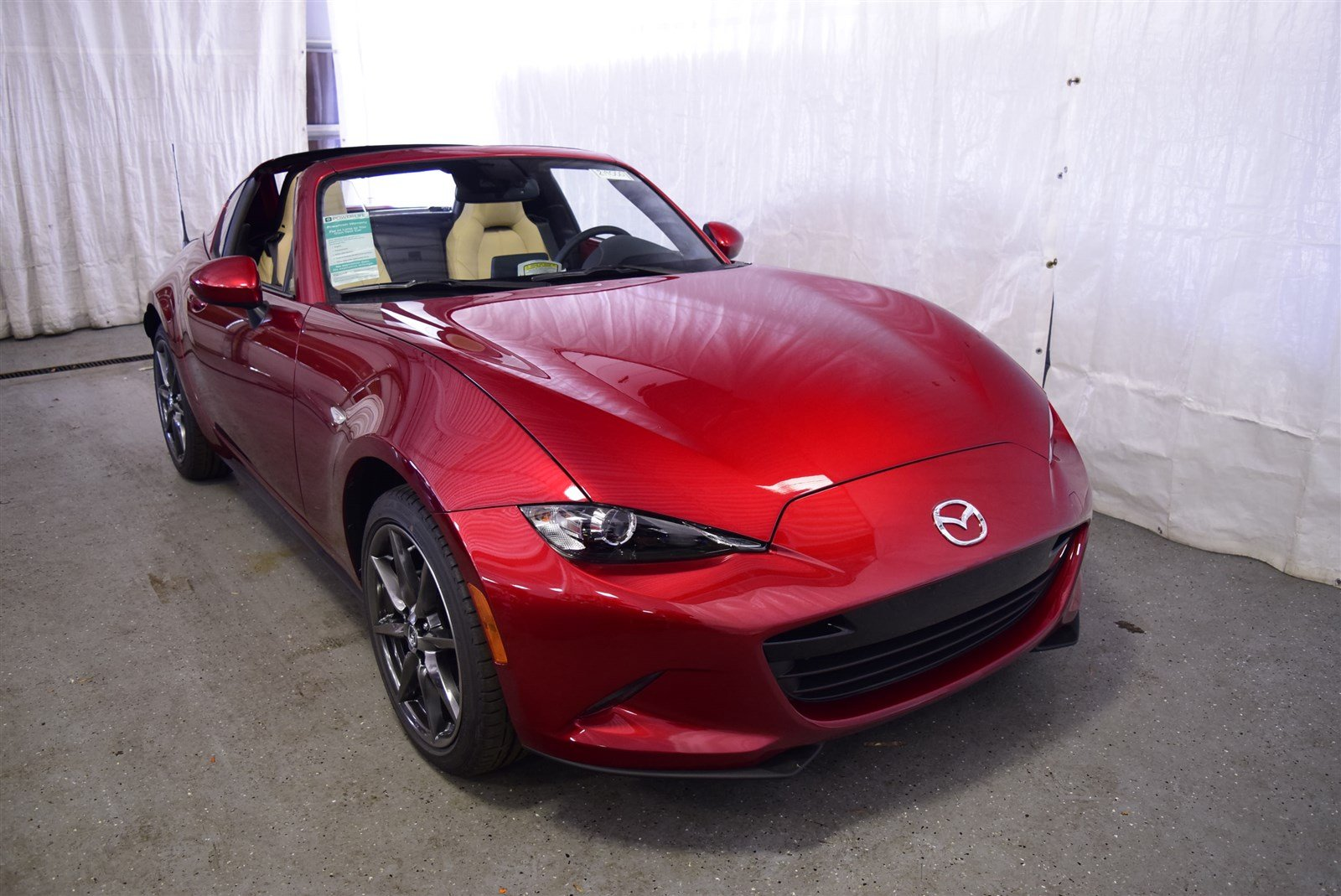 new 2019 mazda mx-5 miata rf grand touring convertible in elgin